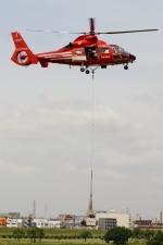 あきらっすさんが、調布飛行場で撮影した東京消防庁航空隊 AS365N2 Dauphin 2の航空フォト(写真)