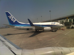 エールフランスさんが、大連周水子国際空港で撮影した全日空 737-781の航空フォト(飛行機 写真・画像)