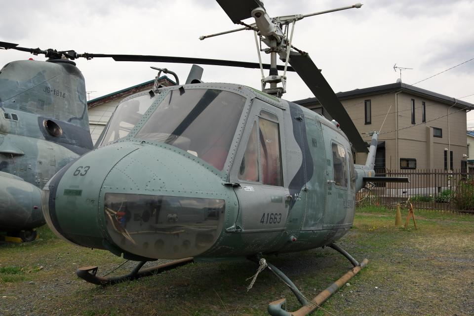 kanade/Ryo@S.O.R.A.さんの陸上自衛隊 Fuji UH-1H (41663) 航空フォト