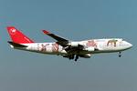 SKYLINEさんが、成田国際空港で撮影したノースウエスト航空 747-451の航空フォト(飛行機 写真・画像)