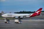T.Sazenさんが、成田国際空港で撮影したカンタス航空 747-438の航空フォト(飛行機 写真・画像)