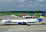 じーく。さんが、ハンブルク空港で撮影したコンドル 757-330の航空フォト(写真)