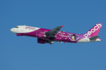 xxxxxzさんが、新千歳空港で撮影したピーチ A320-214の航空フォト(飛行機 写真・画像)