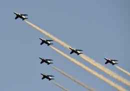 tomo@Germanyさんが、国立競技場で撮影した航空自衛隊 T-4の航空フォト(写真)