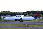 T.Sazenさんが、成田国際空港で撮影したデルタ航空 767-432/ERの航空フォト(飛行機 写真・画像)