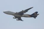 uhfxさんが、関西国際空港で撮影したUPS航空 747-44AF/SCDの航空フォト(飛行機 写真・画像)
