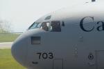 wildcookieさんが、函館空港で撮影したカナダ軍 CC-177 Globemaster IIIの航空フォト(飛行機 写真・画像)