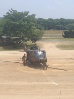 神宮寺 彩さんが、大久保駐屯地で撮影した陸上自衛隊 UH-1Jの航空フォト(飛行機 写真・画像)