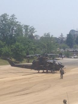 神宮寺 彩さんが、大久保駐屯地で撮影した陸上自衛隊 AH-1Sの航空フォト(飛行機 写真・画像)