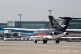飛龍さんが、羽田空港で撮影したウエストエア・アビエーション・サービシス 727-23(Q)の航空フォト(飛行機 写真・画像)