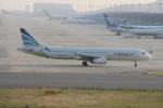 uhfxさんが、関西国際空港で撮影したエアプサン A321-231の航空フォト(飛行機 写真・画像)