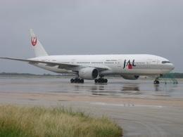肉食獣さんが、下地島空港で撮影した日本航空 777-246の航空フォト(飛行機 写真・画像)
