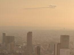 こびとさんさんが、六本木ヒルズで撮影した航空自衛隊 T-4の航空フォト(写真)