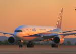 ふじいあきらさんが、広島空港で撮影した全日空 777-281/ERの航空フォト(写真)