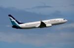 RUSSIANSKIさんが、シンガポール・チャンギ国際空港で撮影したシルクエア 737-8SAの航空フォト(飛行機 写真・画像)