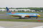 SKYLINEさんが、成田国際空港で撮影したコンチネンタル航空 777-224/ERの航空フォト(飛行機 写真・画像)