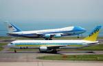 リョウさんが、羽田空港で撮影したアメリカ空軍 VC-25A (747-2G4B)の航空フォト(写真)