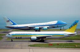 リョウさんが、羽田空港で撮影したアメリカ空軍 VC-25A (747-2G4B)の航空フォト(飛行機 写真・画像)