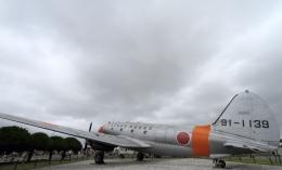 SKY KOCHIさんが、米子空港で撮影した航空自衛隊 C-46A-50-CUの航空フォト(飛行機 写真・画像)