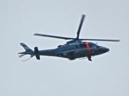 神宮寺 彩さんが、大和西大寺で撮影した奈良県警察 A109E Powerの航空フォト(飛行機 写真・画像)