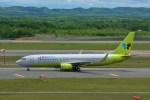 T.Sazenさんが、新千歳空港で撮影したジンエアー 737-8B5の航空フォト(写真)
