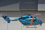 パンダさんが、成田国際空港で撮影した千葉県警察 BK117C-1の航空フォト(飛行機 写真・画像)