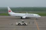 しんさんが、釧路空港で撮影した日本航空 737-846の航空フォト(写真)