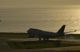 東亜国内航空さんが、香港国際空港で撮影したユナイテッド航空 747-451の航空フォト(飛行機 写真・画像)