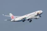SKYLINEさんが、羽田空港で撮影したチャイナエアライン A330-302の航空フォト(飛行機 写真・画像)