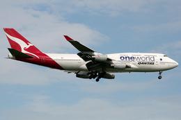 VQ-BELさんが、スワンナプーム国際空港で撮影したカンタス航空 747-438の航空フォト(写真)