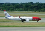 じーく。さんが、ハンブルク空港で撮影したノルウェー・エアシャトル 737-8JPの航空フォト(飛行機 写真・画像)
