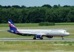 じーく。さんが、ハンブルク空港で撮影したアエロフロート・ロシア航空 A321-211の航空フォト(飛行機 写真・画像)