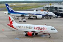 デュッセルドルフ国際空港 - Dusseldorf International Airport [DUS/EDDL]で撮影されたエア・ベルリン - Air Berlin [AB/BER]の航空機写真