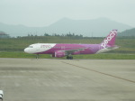 kenmariさんが、新石垣空港で撮影したピーチ A320-214の航空フォト(写真)