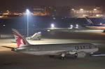 安芸あすかさんが、羽田空港で撮影したカタール航空 787-8 Dreamlinerの航空フォト(写真)