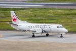 こだしさんが、福岡空港で撮影した日本エアコミューター 340Bの航空フォト(写真)