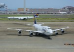 ケロさんが、羽田空港で撮影したルフトハンザドイツ航空 747-430の航空フォト(写真)