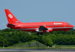 NINEJETSさんが、成田国際空港で撮影したオーロラ 737-2J8/Advの航空フォト(飛行機 写真・画像)