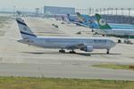T.Sazenさんが、関西国際空港で撮影したエル・アル航空 767-3Q8/ERの航空フォト(写真)