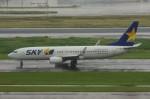 しんさんが、羽田空港で撮影したスカイマーク 737-8HXの航空フォト(写真)