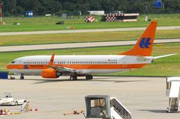 Tomo-Papaさんが、フランクフルト国際空港で撮影したハパック ロイド フルーク 737-8K5の航空フォト(飛行機 写真・画像)