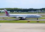 mojioさんが、成田国際空港で撮影したスリランカ航空 A340-313Xの航空フォト(飛行機 写真・画像)