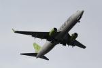 ANA744Foreverさんが、羽田空港で撮影したソラシド エア 737-86Nの航空フォト(写真)