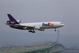 T.Sazenさんが、関西国際空港で撮影したフェデックス・エクスプレス DC-10-30Fの航空フォト(飛行機 写真・画像)