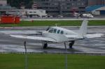 rYo1007さんが、福岡空港で撮影した日本個人所有 A36 Bonanza 36の航空フォト(飛行機 写真・画像)