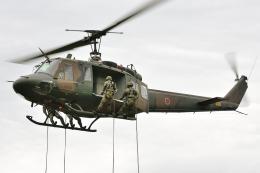 ☆NSさんが、遠軽駐屯地で撮影した陸上自衛隊 UH-1Jの航空フォト(飛行機 写真・画像)