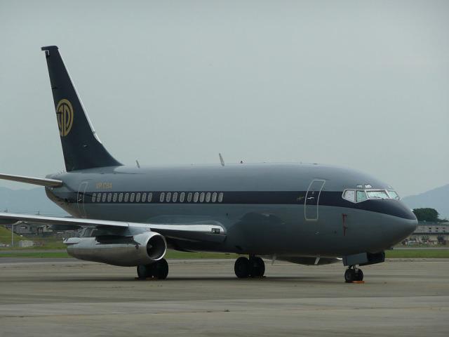 さっしんさんが、名古屋飛行場で撮影したスカイ・アヴィエーション 737-2W8/Advの航空フォト(飛行機 写真・画像)