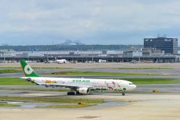 こずぃろうさんが、羽田空港で撮影したエバー航空 A330-302Xの航空フォト(飛行機 写真・画像)