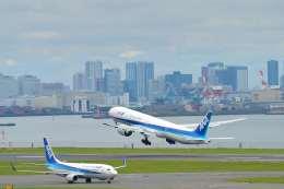 こずぃろうさんが、羽田空港で撮影した全日空 777-381/ERの航空フォト(飛行機 写真・画像)