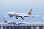 SKYLINEさんが、羽田空港で撮影したアシアナ航空 A330-323Xの航空フォト(写真)